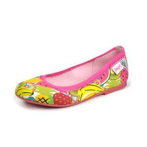 Desigual Kids Flat Multi Colored Ballerina Shoes